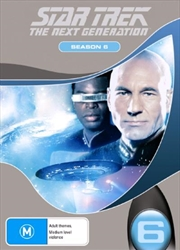 Star Trek Next Generation DVD Box Set Season 06 (New Packaging) | DVD