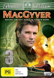 MacGyver - Season 03 | DVD