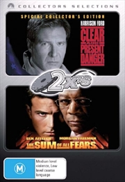 Clear And Present Danger  / Sum Of All Fears, The | DVD