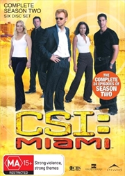 CSI: Miami - Season 02 | DVD
