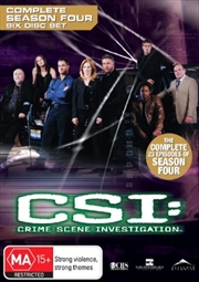 CSI: Crime Scene Investigation - Season 4 | DVD