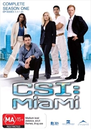 CSI: Miami - Season 01 | DVD