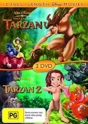 Tarzan/Tarzan 2 | DVD