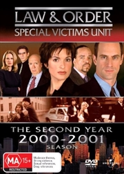 Law And Order: Special Victims Unit - Season 02 | DVD