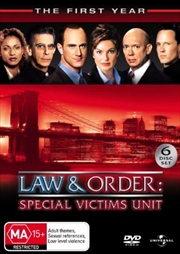 Law And Order: Special Victims Unit - Season 01 | DVD