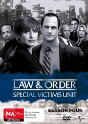 Law And Order: Special Victims Unit - Season 04 | DVD