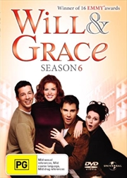 Will and Grace - Season 06 | DVD