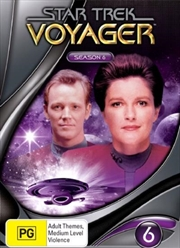 Star Trek Voyager - Season 06 (New Packaging) | DVD