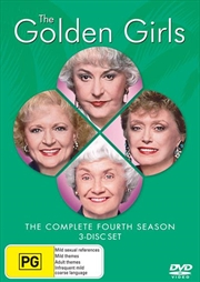 Golden Girls, The - Season 04 | DVD