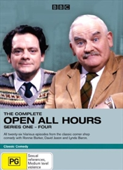 Open All Hours - Complete Series 01 - 04 Box Set
