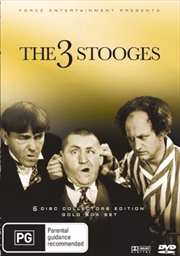 Three Stooges Collector's Edition - Gold Edition Boxset | DVD