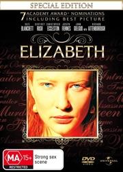 Elizabeth  - Special Edition   DVD
