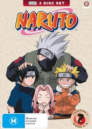 Naruto - Collection 2 - Eps 14 - 25 | DVD