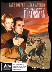 Plainsman, The | DVD