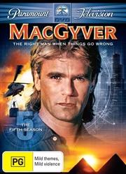 MacGyver - Season 05 | DVD