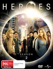 Heroes - Season 2   DVD