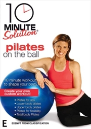 10 Minute Solution: Pilates On The Ball | DVD
