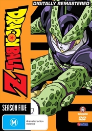 Dragon Ball Z - Season 5 - Remastered - Uncut | DVD