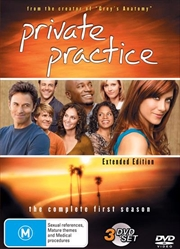Private Practice - Season 1 - Extended Edition | DVD