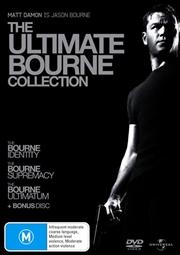 Bourne Identity / The Bourne Supremacy / The Bourne Ultimatum, The | DVD