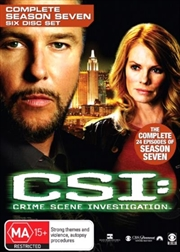 CSI: Crime Scene Investigation - Season 07 | DVD