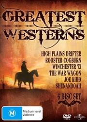 High Plains Drifter / Rooster Cogburn / Winchester '73 / The War Wagon / Joe Kidd / Shenandoah