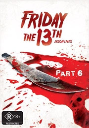 Friday The 13th - Part 06 - Jason Lives (New Packaging) | DVD
