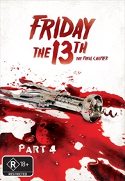 Friday The 13th - Part 04 - The Final Chapter (New Packaging) | DVD