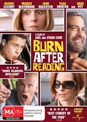 Burn After Reading   DVD