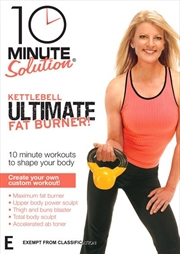 10 Minute Solution - Kettlebell Ultimate Fat Burner | DVD