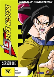 Dragon Ball GT Remastered - Season 1 - Uncut | DVD