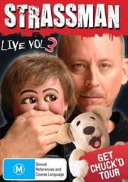 Strassman Live - Vol 03 - Get Chuck'd Tour   DVD