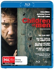 Children Of Men  - Single Disc   Blu-ray
