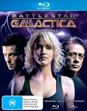 Battlestar Galactica - Season 03 - Slimline Packaging