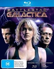 Battlestar Galactica - Season 03 - Slimline Packaging | Blu-ray