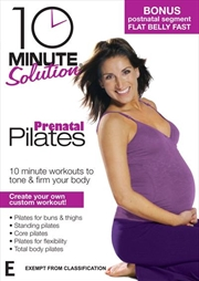 10 Minute Solution: Prenatal Pilates | DVD