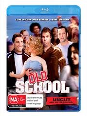 Old School   Blu-ray