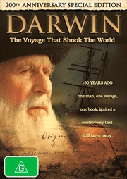 Darwin: The Voyage That Shook The World: 200th Anniversary Special Edition | DVD