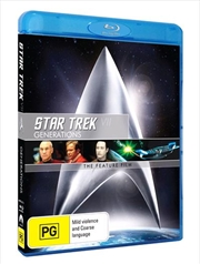 Star Trek VII - Generations Remastered | Blu-ray