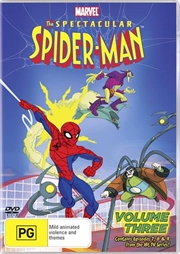 Spectacular Spiderman - Vol 3   DVD