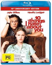 10 Things I Hate About You 10th Anniversary Special Edition | Blu-ray