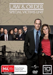 Law And Order: Special Victims Unit - Season 10 | DVD