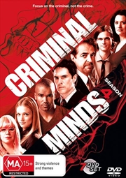 Criminal Minds - Season 4 | DVD