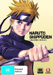 Naruto Shippuden - Collection 1 - Eps 01-13