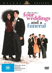 Four Weddings And A Funeral | DVD