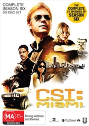 CSI: Miami - Season 06 | DVD