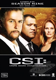 CSI: Crime Scene Investigation - Season 09 | DVD
