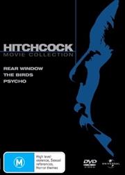 Psycho / The Birds / Rear Window