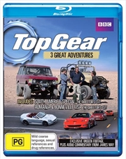 Top Gear: The Great Adventures: South America, Romania And Bonneville | Blu-ray