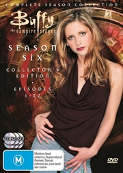 Buffy The Vampire Slayer - Season 06 | DVD